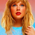 Beautiful Blue Eyes of Taylor Swift (10878)