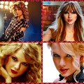 Beautiful Blue Eyes of Taylor Swift (10892)Collage