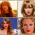 Beautiful Blue Eyes of Taylor Swift (10896)Collage