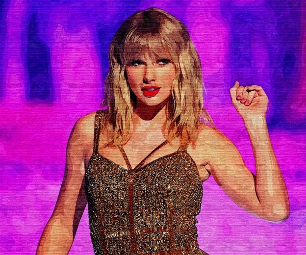 Beautiful Blue Eyes of Taylor Swift (10947)