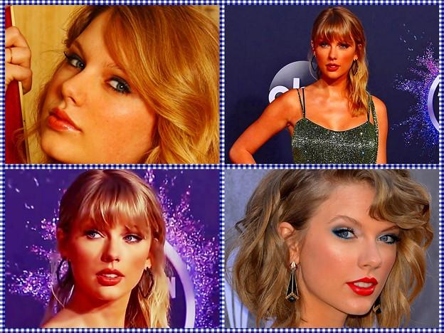 Beautiful Blue Eyes of Taylor Swift (10955)