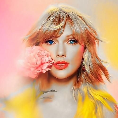 Beautiful Blue Eyes of Taylor Swift (10960)