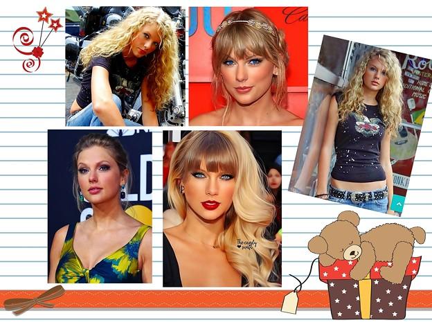 Beautiful Blue Eyes of Taylor Swift (10993)
