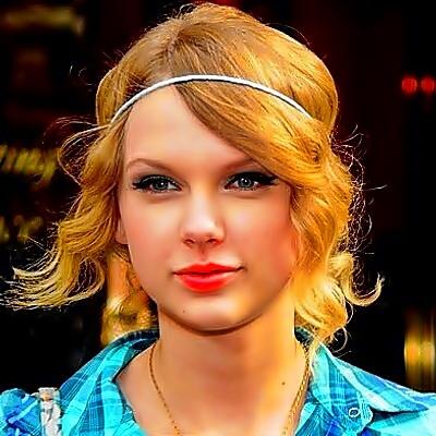 Beautiful Blue Eyes of Taylor Swift (11011)