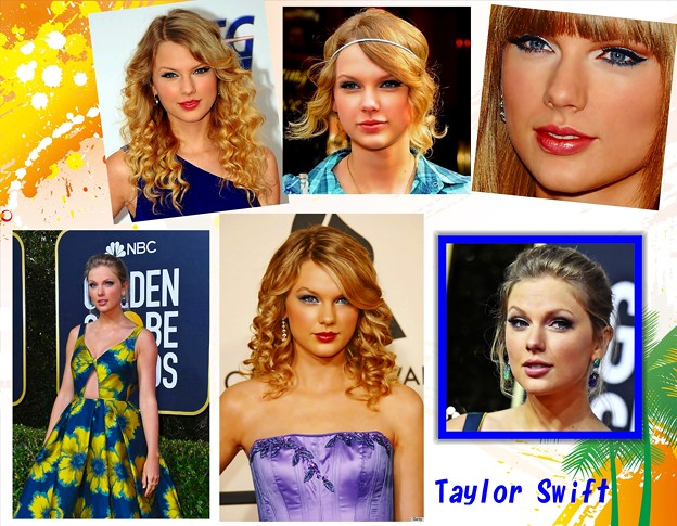 Beautiful Blue Eyes of Taylor Swift (11013)