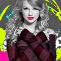 Beautiful Blue Eyes of Taylor Swift (11017)