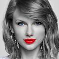 Beautiful Blue Eyes of Taylor Swift (11023)