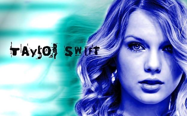 Beautiful Blue Eyes of Taylor Swift (11048)