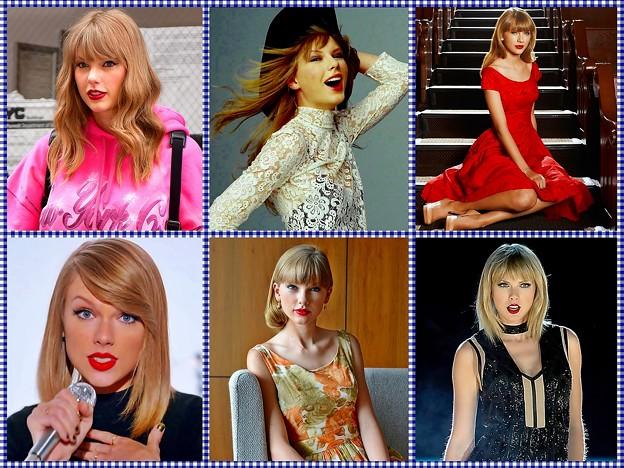 Beautiful Blue Eyes of Taylor Swift (11058)