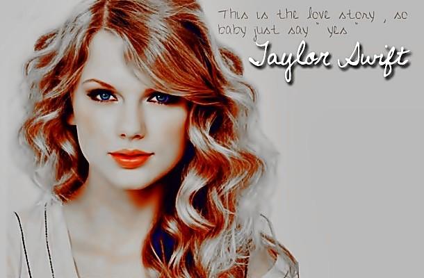Beautiful Blue Eyes of Taylor Swift (11059)