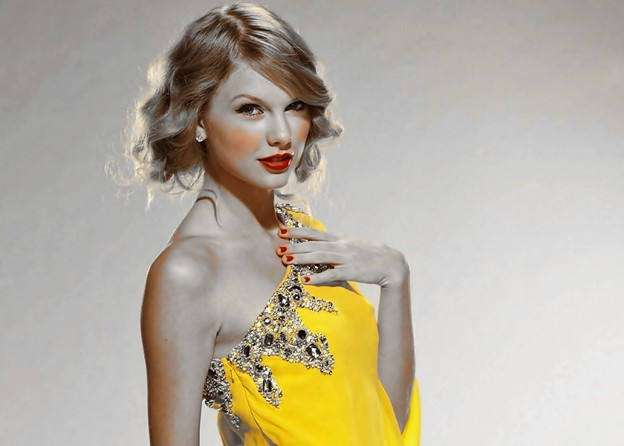 Beautiful Blue Eyes of Taylor Swift (11061)