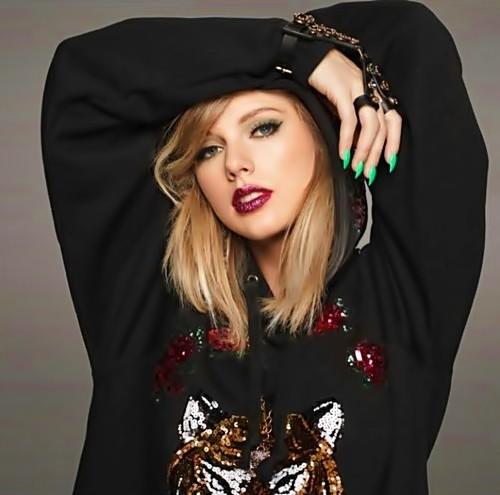 Beautiful Blue Eyes of Taylor Swift (11066)