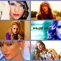 Beautiful Blue Eyes of Taylor Swift (11075) Collage