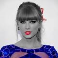 Beautiful Blue Eyes of Taylor Swift (11084)
