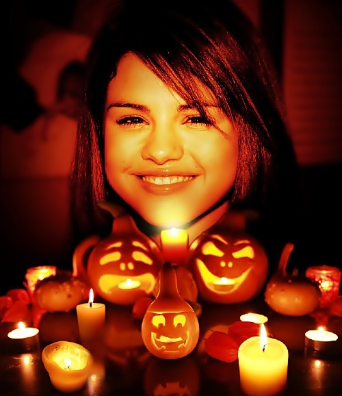 Photos: Selena Gomez's Halloween(10004)