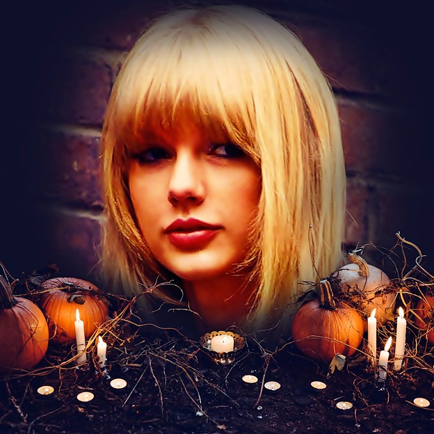 Beautiful Blue Eyes of Taylor Swift(11089)
