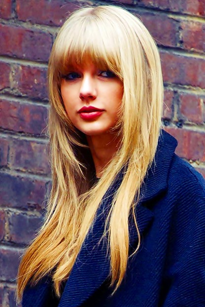 Beautiful Blue Eyes of Taylor Swift(11090)