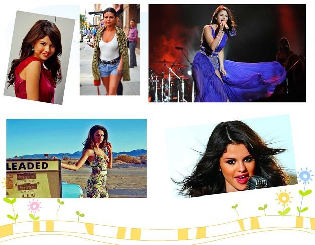 The latest image of Selena Gomez(43035)Collage