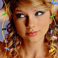 Beautiful Blue Eyes of Taylor Swift(11093)