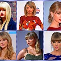 Beautiful Blue Eyes of Taylor Swift(11096) Collage