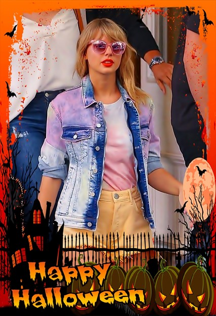 Beautiful Blue Eyes of Taylor Swift(11100)
