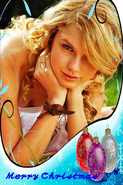 Beautiful Blue Eyes of Taylor Swift(11102)