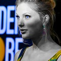 Beautiful Blue Eyes of Taylor Swift(11105)