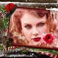 Beautiful Blue Eyes of Taylor Swift(11111)