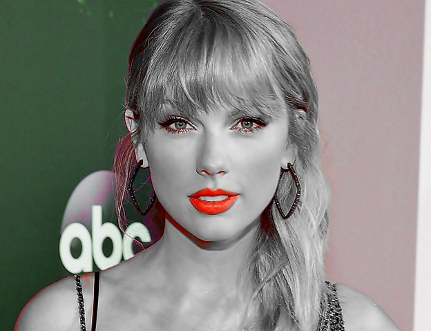 Beautiful Blue Eyes of Taylor Swift(11116)