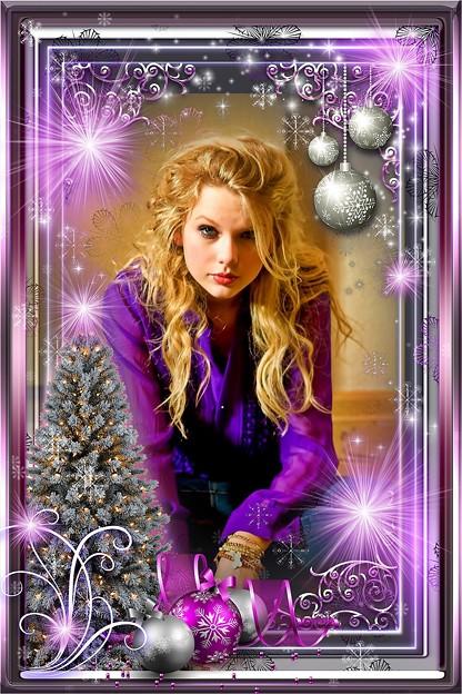 Beautiful Blue Eyes of Taylor Swift(11123)