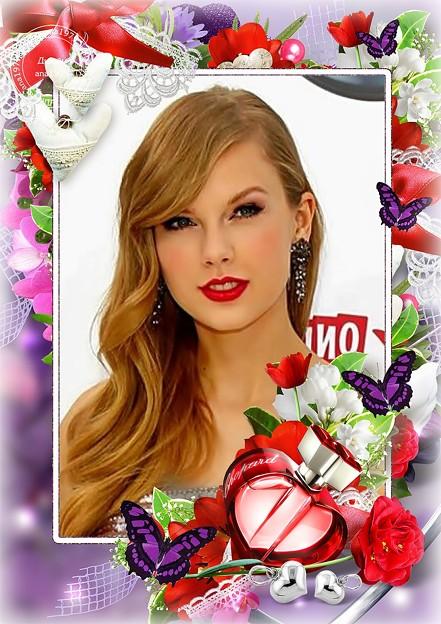 Beautiful Blue Eyes of Taylor Swift(11124)