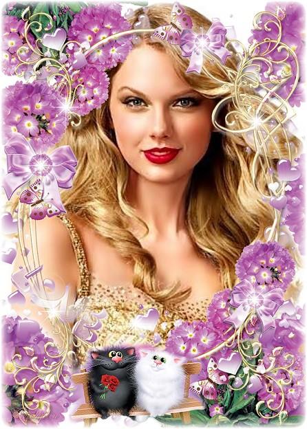 Beautiful Blue Eyes of Taylor Swift(11126)
