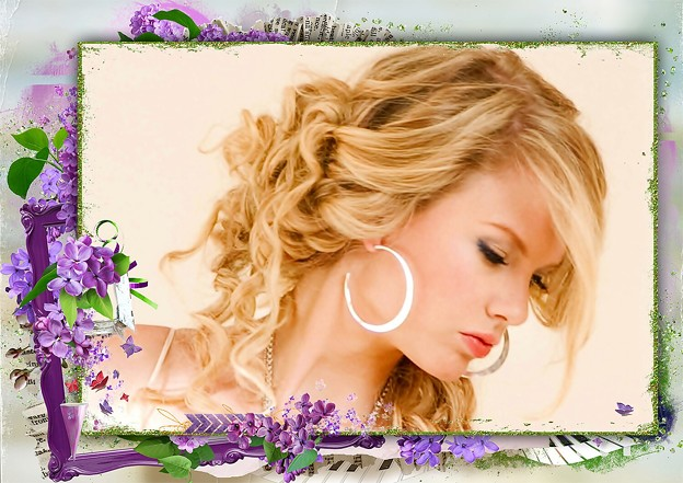 Beautiful Blue Eyes of Taylor Swift(11128)