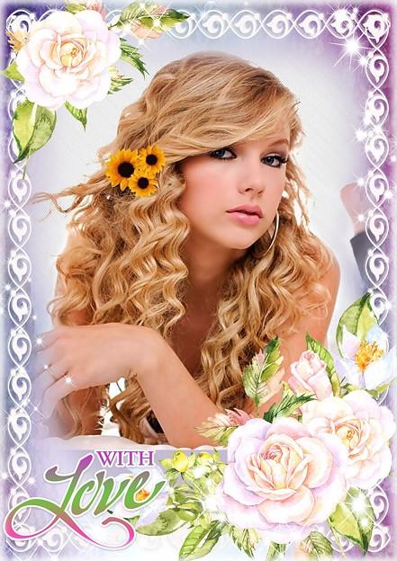 Beautiful Blue Eyes of Taylor Swift(11131)