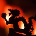 写真: 獅子の飾り物