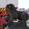 写真: 関帝廟獅子