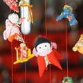 写真: 吊るし雛