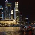 夜のシンガポール