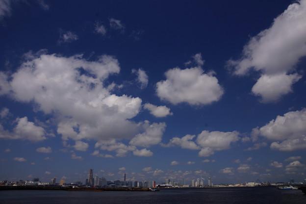 横浜夏風景