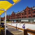 夏の赤レンガ倉庫