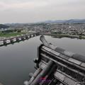 写真: 遠眺犬山