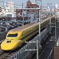写真: ドクターイエロー 東海道新幹線京都~新大阪