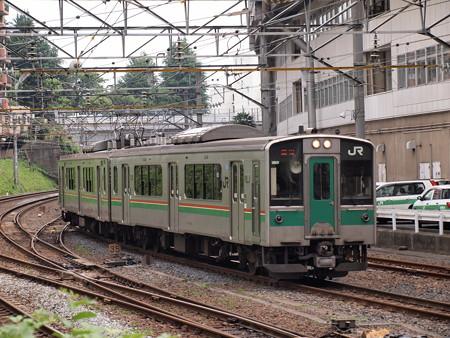 701系回送 東北本線東仙台~仙台01