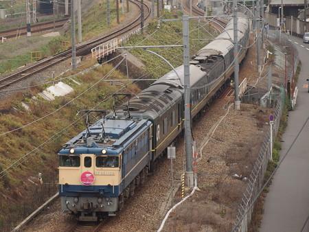 EF65 トワイライトエクスプレス 東海道本線塚本~尼崎