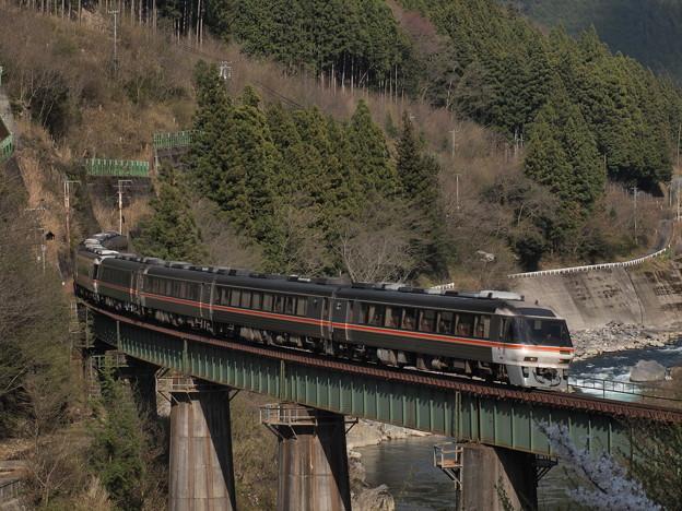 キハ85系ワイドビューひだ 高山本線下呂~焼石16