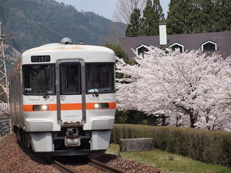 キハ25形普通 高山本線下呂~焼石03