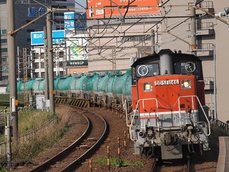 DD51貨物 あおなみ線ささしまライブ駅04