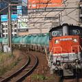 写真: DD51貨物 あおなみ線ささしまライブ駅04