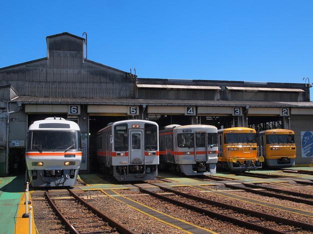 展示されている車両 名古屋車両区02