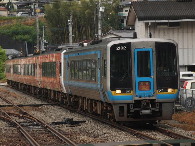 2000系特急南風 土讃線阿波池田駅01